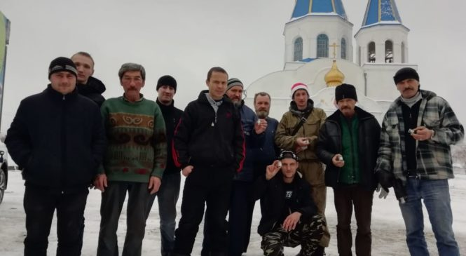 Новый год в сторожке Покровского Храма
