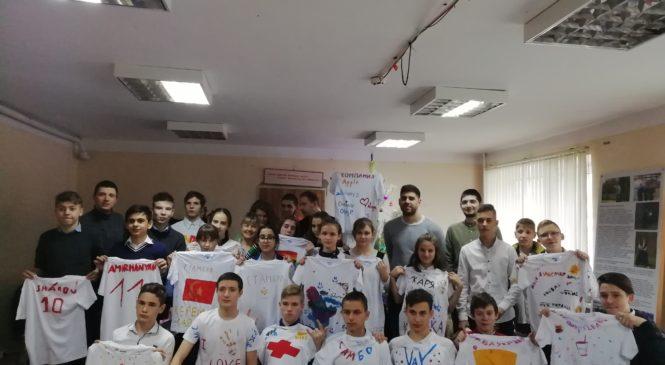Мотивация к доброте и командной работе: встреча детей школы-интерната с волонтерами Benevity