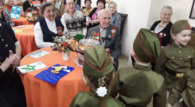 Праздник «Герои на все времена» подарили ветеранам в Центре «Мои года – моё богатство»