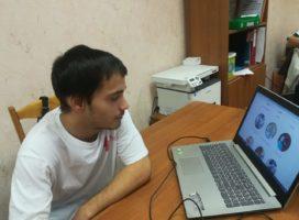 Дети школы-интерната смогли «примерять» на себя различные профессии через Интернет