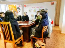 Встреча в рамках проекта по наставничеству «Старший друг»