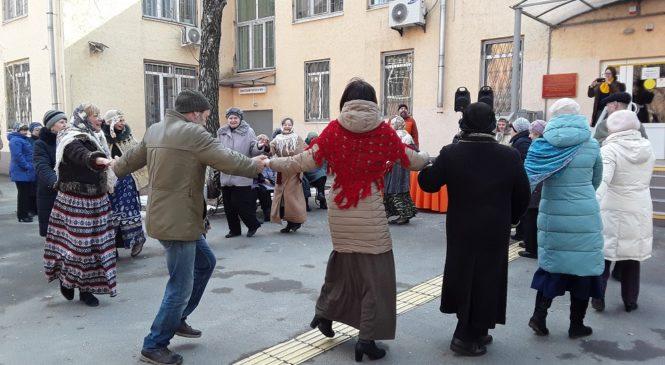 Праздник «Широкая масленица» для пожилых людей