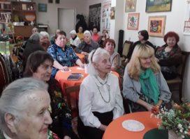 Традиционный праздник «Встречаем весну с улыбкой!» прошел в Центре поддержки людей старшего поколения