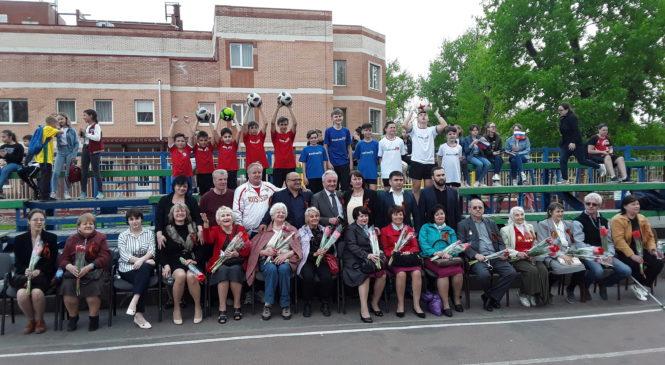 Благотворительный благотворительный детско-юношеский футбольный турнир в честь Дня Победы для людей старшего поколения