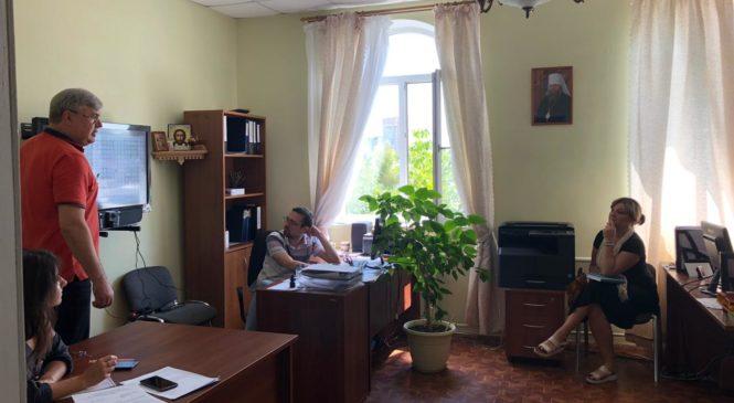 В отделе по церковной благотворительности и социальному служению Ростовской-на-Дону епархии прошло рабочее совещание