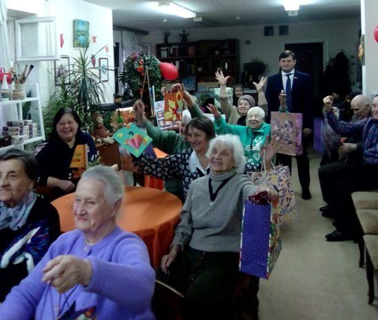 День именинника для пожилых людей Центра «Мои года–моё богатство»