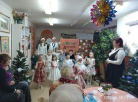 Праздничное мероприятие для пожилых людей в рамках проектов «Счастливые внуки» и «Диалог поколений»