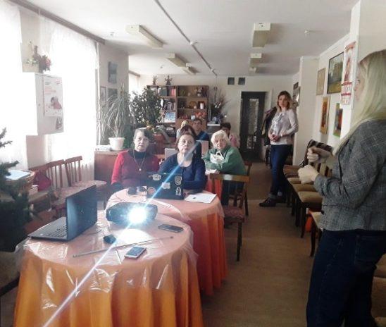 Компьютерные курсы «Мир без границ» для пожилых людей и инвалидов Центра «Мои года-моё богатство»