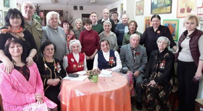 День 77-летия освобождения Ростова-на-Дону от фашистских захватчиков отметили в Центре «Мои года-моё богатство»