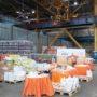 «Фонд продовольствия «Русь» передал Епархиальному штабу помощи продуктовые наборы для нуждающихся