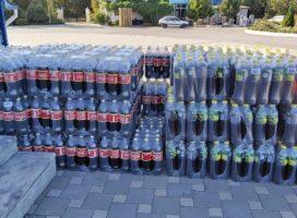 Благотворительный фонд продовольствия «Русь» передал 4,5 тонны сладких напитков