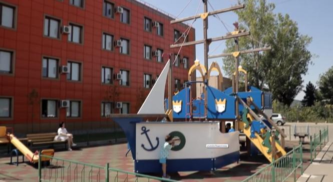 Ростовский Реабилитационный центр для детей-инвалидов отметил 3-х летний юбилей