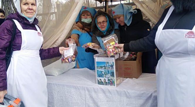 Сестричества епархии приняли участие в заупокойной литии на месте погребения донского подвижника