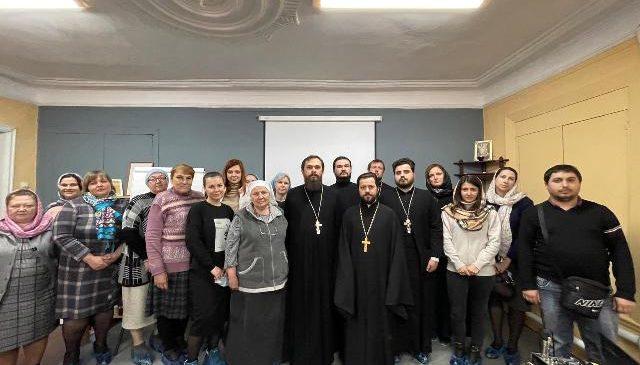 Руководитель епархиального отдела провел выездное совещание по социальному служению
