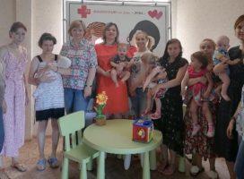 Состоялась встреча подопечных Александрийского приюта для женщин с семейным психологом