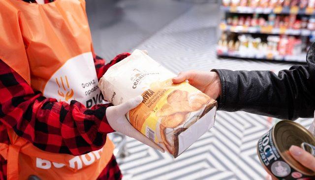 В Ростовской епархии оказана продуктовая помощь многодетным семьям